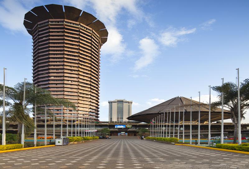 Nouveau bureau à Nairobi